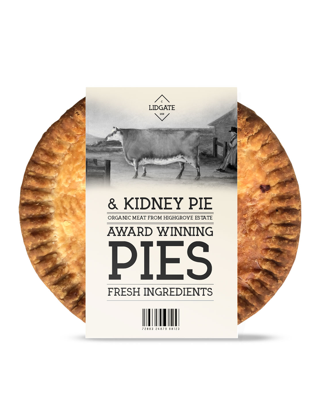 Award winning packagin design pies